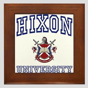 HIXON University Framed Tile