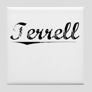 Terrell, Vintage Tile Coaster