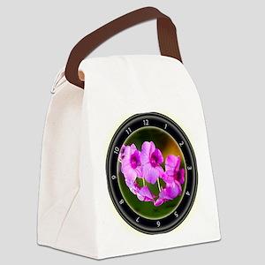 Orchid Splendor Canvas Lunch Bag