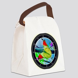 Sky High Butterfly Canvas Lunch Bag