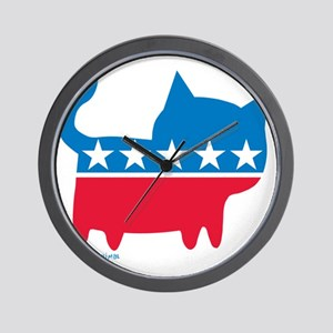 THE CAT PARTY Wall Clock