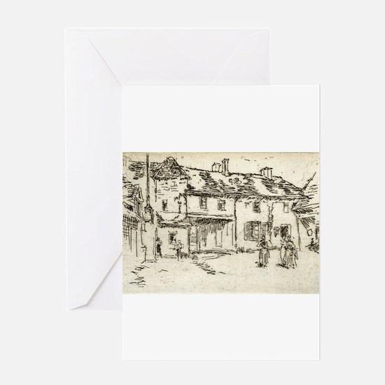 Hôtel de la Promenade, Loches - Whistler - c1880 G