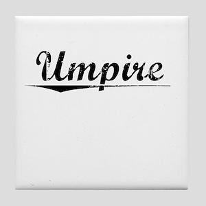 Umpire, Vintage Tile Coaster