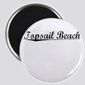 Topsail Beach, Vintage Magnet