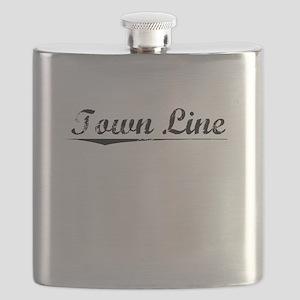Town Line, Vintage Flask