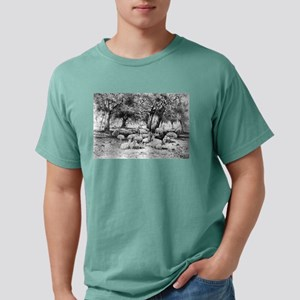 In an old orchard - Peter Moran - 1886 Mens Comfor