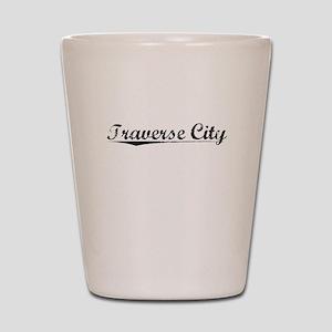 Traverse City, Vintage Shot Glass