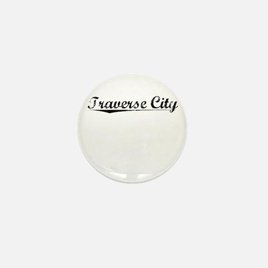 Traverse City, Vintage Mini Button