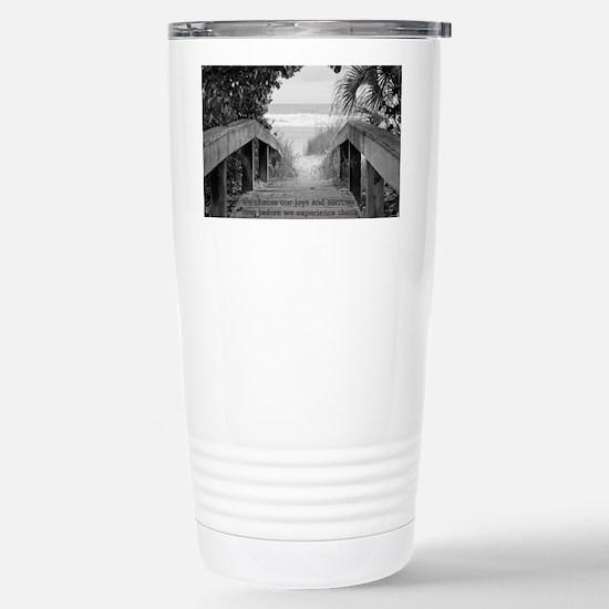 Kahlil Gibran Quote Stainless Steel Travel Mug