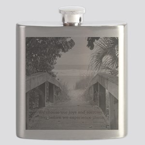 Kahlil Gibran Quote Flask