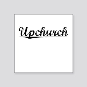 "Upchurch, Vintage Square Sticker 3"" x 3"""