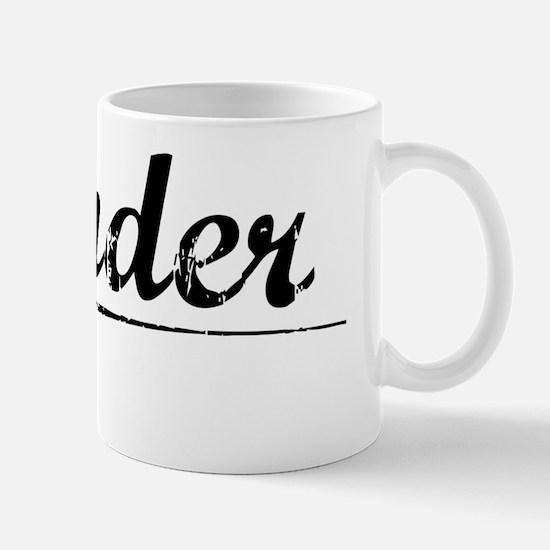 Vander, Vintage Mug