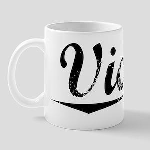 Vichy, Vintage Mug