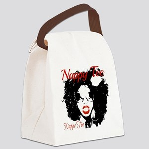 Nappy Tee Canvas Lunch Bag