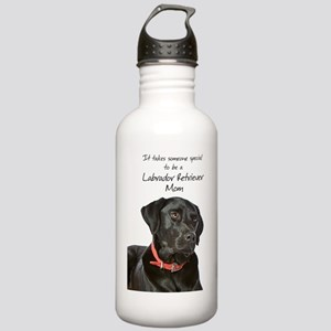 Black Lab Mom Stainless Water Bottle 1.0L