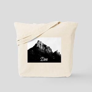 Zion Watchman B&W Tote Bag