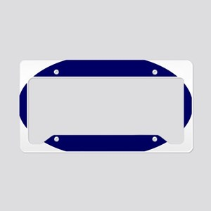 Staggie Nvy for Wh License Plate Holder