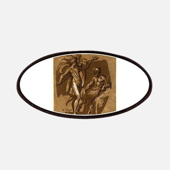 Apollo and Marsyas - Ugo da Carpi - c1520 Patch