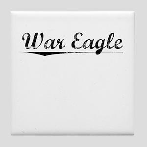 War Eagle, Vintage Tile Coaster