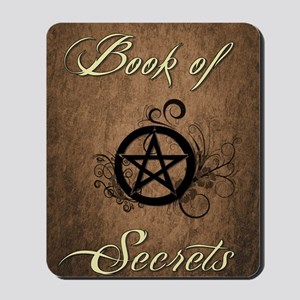 Book of secrets Mousepad