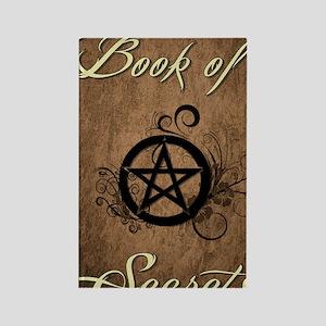 Book of secrets Rectangle Magnet