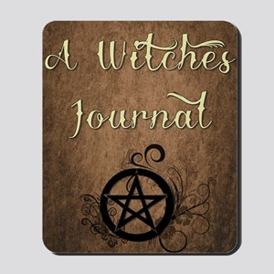 A Witches journal Mousepad