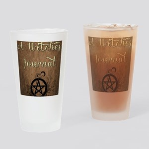 A Witches journal Drinking Glass