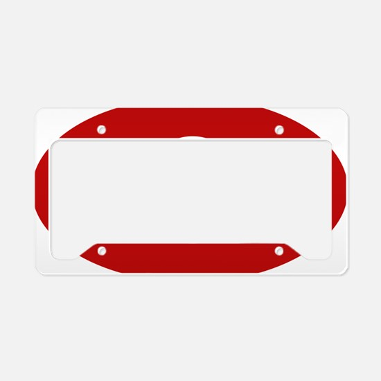 Don Rd for Wh License Plate Holder
