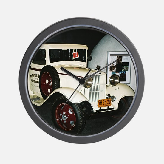 1932 Ford Tow Truck - Wall Clock