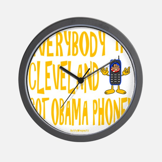 Obama Phone Wall Clock