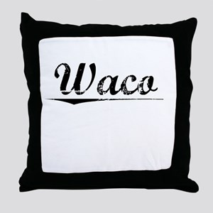 Waco, Vintage Throw Pillow