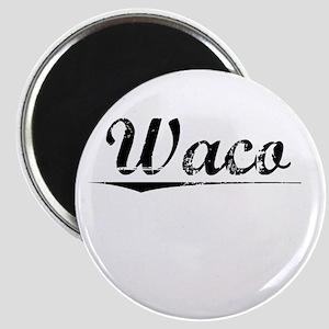 Waco, Vintage Magnet