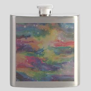 Cosmos Puzzle Flask