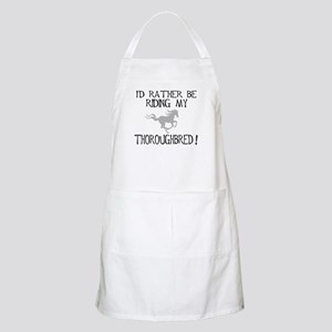 Rather...Thoroughbred! BBQ Apron