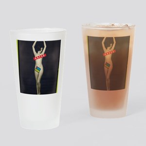 naked cover rotated Drinking Glass