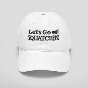 Lets go Squatchin grey Cap