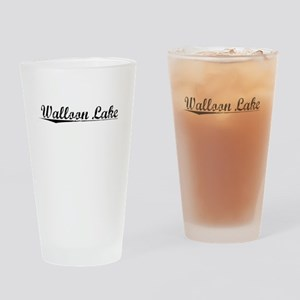 Walloon Lake, Vintage Drinking Glass