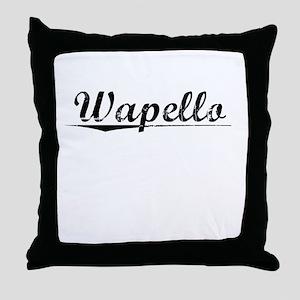 Wapello, Vintage Throw Pillow