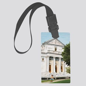 Immaculate Print Large Luggage Tag