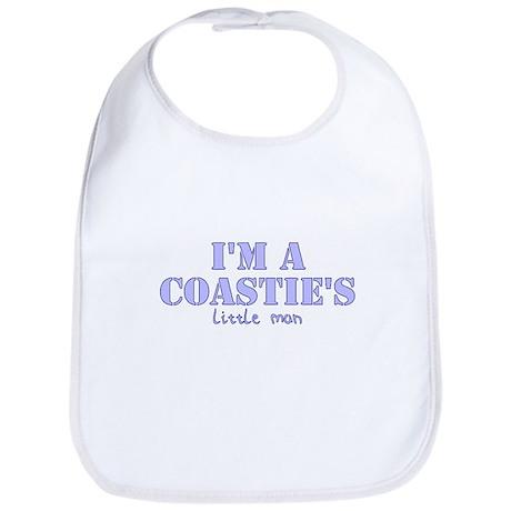 Coastie's Little Man Bib
