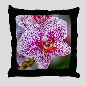 Orchid World Throw Pillow