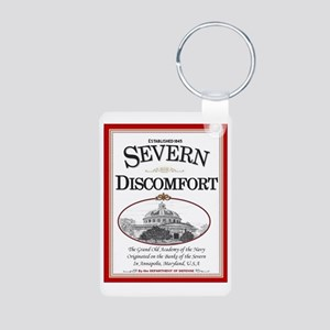 Severn Discomfort Aluminum Photo Keychain