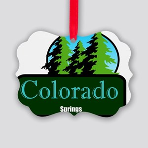 colorado springs t shirt truck st Picture Ornament