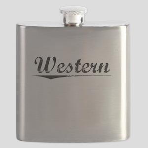 Western, Vintage Flask
