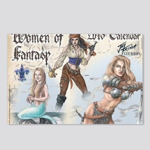 Women of Fantasy 2013 Cal Postcards (Package of 8)
