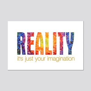 Reality Imagination Mini Poster Print