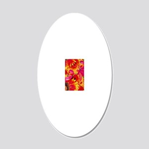 iPhone5 20x12 Oval Wall Decal