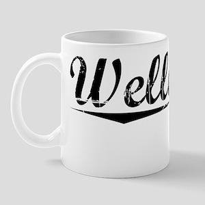 Wellesley, Vintage Mug
