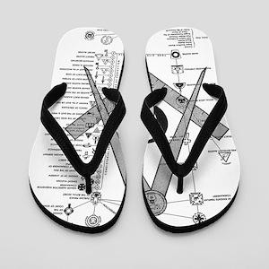 Masonic Bodies Flip Flops
