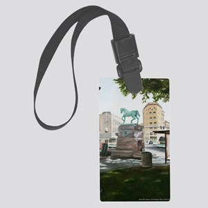 Exchange Place Print Large Luggage Tag